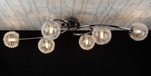 Lampadario Con Sfere Di Cristallo.Lampadario Sfere Vetro Lampade Con Bolle Di Vetro Lampadario