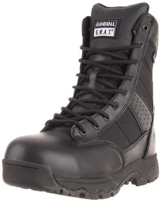 Original S.W.A.T. Men's Metro 9 Inch Waterproof Side-zip Safety Tactical Boot, Black, 8 2E US