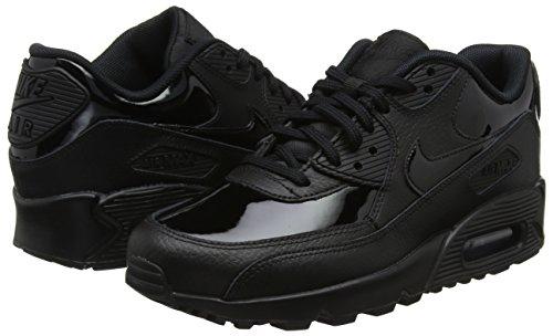 Max Cuir Wmns Blanc Nike 002 De Air Chaussures Femme 90 En Noir Pour noir Gymnastique n0IPn