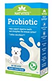 Cheap Natvites Probiotics with Prebiotic Fiber White Chocolate for Children 40 Count