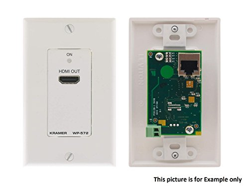 Kramer Electronics Active Wall Plate HDMI Over Twisted Pair Receiver ()