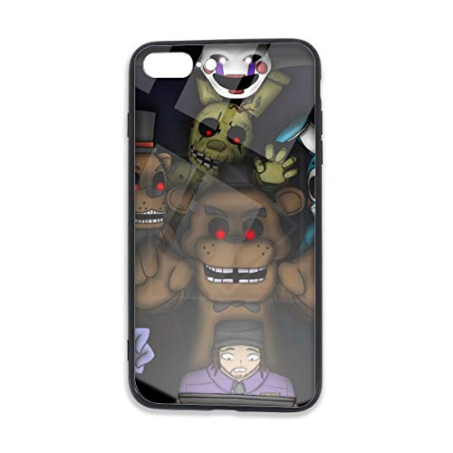 Five Nights at Freddy's Job Interview iPhone 8 Plus Case Tempered Glass iPhone 7 Plus Cases Fashion Design Shockproof Anti-Scratch Case 5.5 -