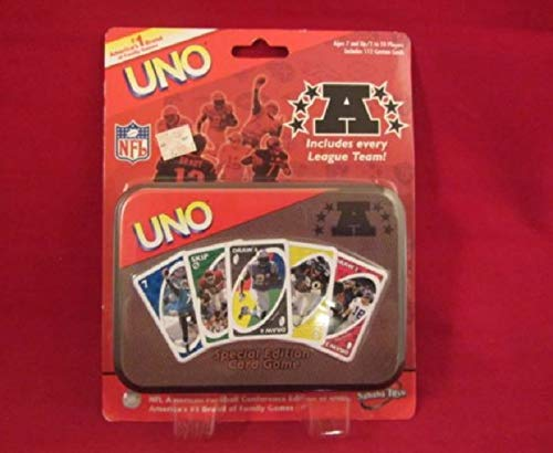 Uno 2006 NFL National Football Conference Edition Card Tin