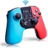 Wireless Controller for Nintendo Switch Remote Pro Controller Gamepad Joystick for Nintendo Switch Console  Supports Gyro Axis  Turbo and Dual Vibration [Update Version]