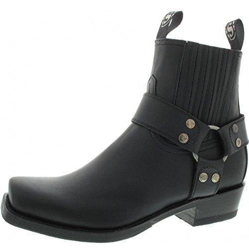 Adulte 8xwzwqosz Pet Sendra Motardes Bottes Noir Mixte Boots 4rgwY4