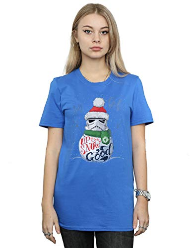 Buona Petit Wars T Fit Star shirt Fino Bleu Femme neve alla Ami Royal Stormtrooper YwqCWfz
