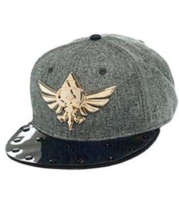The Legend of Zelda Metal Triforce Logo Adjustable Snapback Cap/Hat