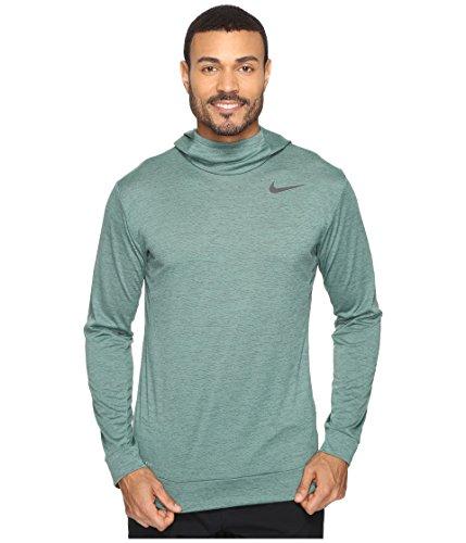 Nike Dry Training Hoodie Seaweed/Green Stone/Black Men's Clothing by NIKE