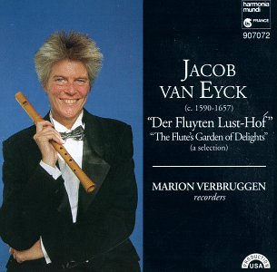 Cover of Van Eyck: Der Fluyten Lust-Hof (A Selection)