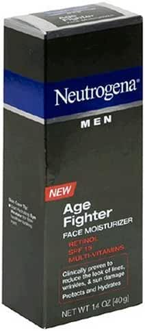Neutrogena Men Face Moisturizer, Age Fighter, 1.4 Ounce (40 g) (Pack of 2)