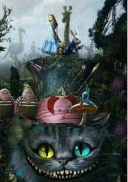 Home & Garden 5d Diy Diamond Painting Alice In Wonderland Cross Stitch Love The Cheshire Cat
