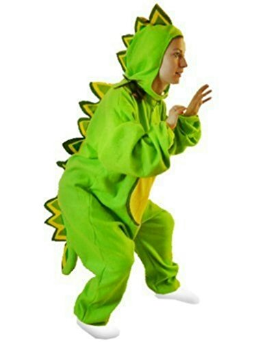 For Green Costume Dragon Adults (Fantasy World Adults Dragon Costume 8-10 / M)