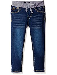 Girls' Knit Waist Skinny Denim Jean