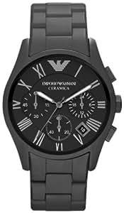 Armani Emporio Ceramica Men's Ceramic Case Chronograph Date Watch AR1457