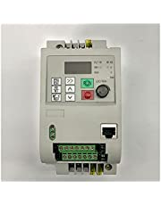 Variable Frequency VFD 1. 5kw 2. 2kw Single Phase Inverter VFD 2hp3hp Inverter Frequency Converter Variable Frequenc Drive Spindle Speed Control Phase Converters (Color : 1.5kw)