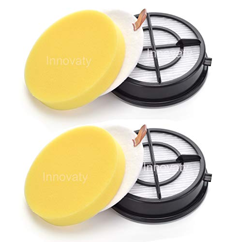 Innovaty 2-Pack Filter Kit for Bissell Pet Hair Eraser Upright Vacuum Model 1650 Series,1650C, 16501, 1650A, 16502, 1650P, 1650R, 1650W,Replaces Part # 16871