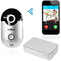 Hibell WiFi Video Doorbell Doorphone Home Security Camera Phone Intercom Alarm PnP Andriod Apple Push Notification by Security-01