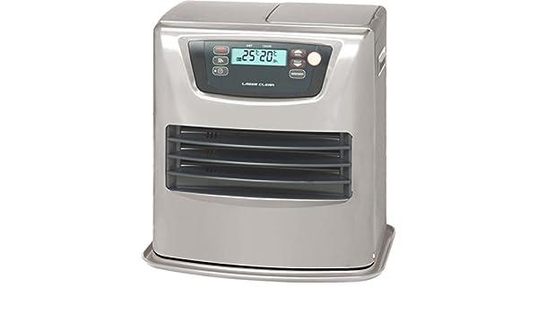 Zibro - Lc 35 estufa de combustible electrónica, 03:50 kw, 56 metros cuadrados, plata: Amazon.es: Bricolaje y herramientas