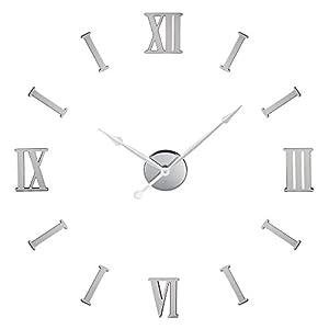 Amazon Com Diy Metal Wall Clock Roman Numeral Suggested