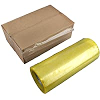 Woopoo Clear Packing Tape   Extra Wide Heavy Duty Adhesive for Sealing Cardboard Box   Tight Closure for Packaging, Transporting,Storage, Shipping and Moving Boxes   Easy to Use