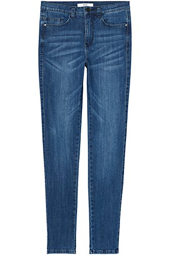 Donna Regular FIND Jeans Wash Blu Skinny Mid Vita IqSwR1