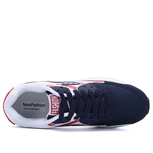 No.66 Town Heren Dames Lucht Casual Loopschoenen Mode Sneaker Blauw