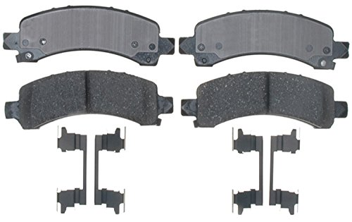 ACDelco 17D974CH Professional Ceramic Rear Disc Brake Pad Set