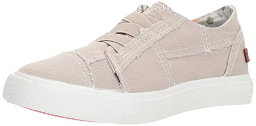 Blowfish Kids Girls' Marley-k, Light Grey Antique Smoked Canvas, 2 M US Little - Station Marley