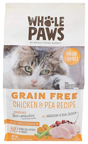 Whole Paws, Cat Food Dry Chicken Grain Free, 56 Ounce 2