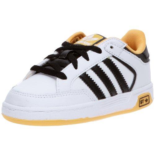 adidas Originals Unisex-Kinder Babyschuhe - Lauflernschuhe Weiß - Blanc/Noir/Or