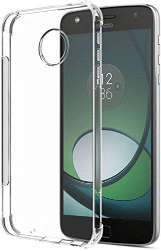 SmartLike Motorola Moto G5 Plus Branded Soft Silicon Transparent Back Cover for Motorola Moto G5 Plus