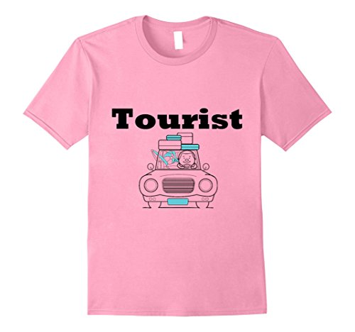 Kids Tourist Costume (Mens LIMITED Cure Tourist Shirt Men, Women,Teens,Kids,Boys, Girls Large Pink)