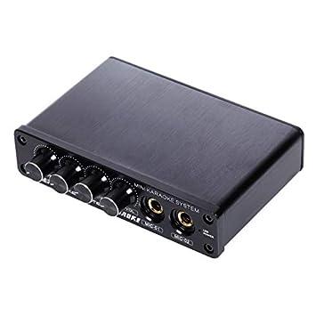 A933 Mini Amplificador de Mezclador de Sonido para Sistema ...
