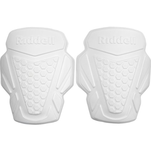 RIDDELL Youth Football Thigh Pads - 2-Pack, White
