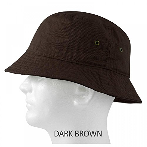 Brown_(US Seller) Cotton Boonie Fishing Summer Hat Cap Sportsman