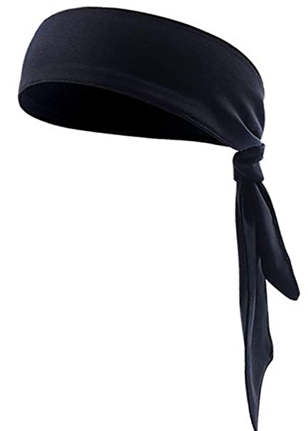 05de447a3d1f4 Amazon.com : JINTN Quickly Dry Moisture Wicking Sweat Head Tie ...