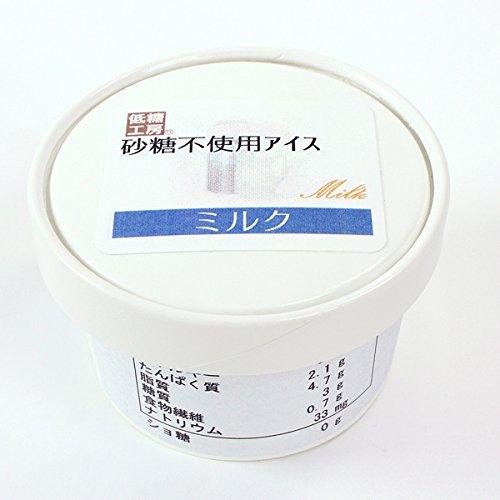 低糖工房『砂糖不使用 アイス ミルク味』