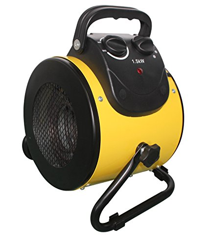 AZ Patio HIL-BG-E2B Circular Electric Fan Heater by AZ Patio