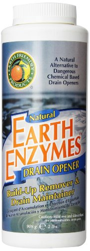 Earth Friendly Products Earth Enzymes, Drain Opener,  32 Ounce