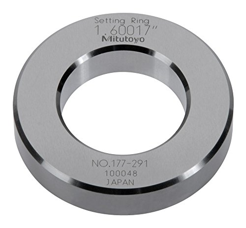 Mitutoyo 177-291, Setting Ring, 1.600' ID 1.600 ID