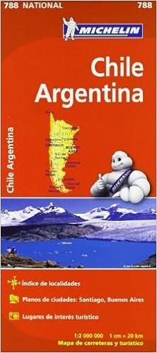 Mapa National Chile - Argentina Mapas National Michelin: Amazon.es: Vv.Aa, Vv.Aa: Libros