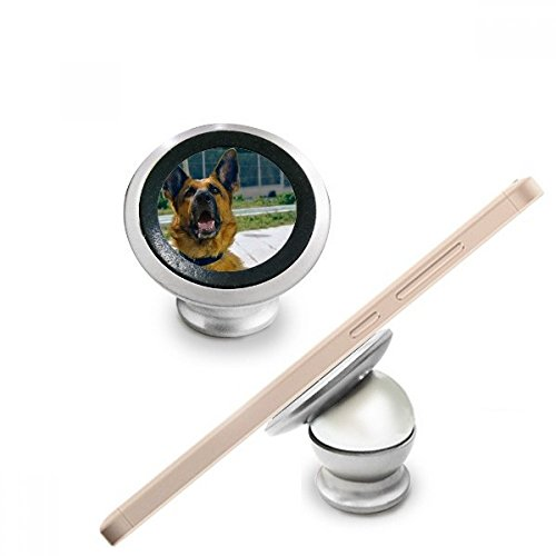 Handsome Dog Pet Photography Picture Magnetic Phone Mount Car Dashboard Holder Stand 360 Degree Rotation Gift
