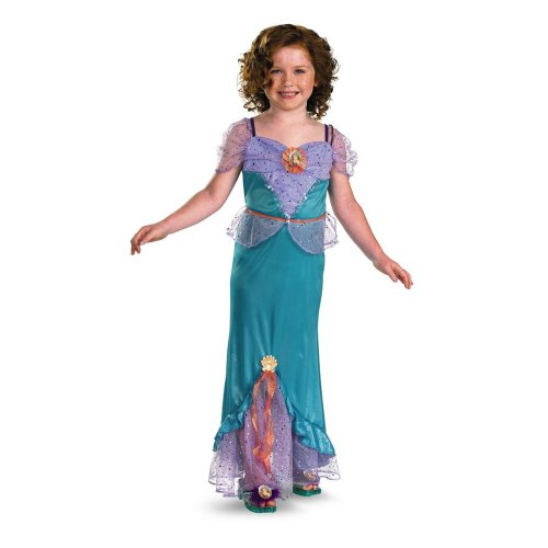 Ariel's Wedding Dress Costume (Ariel Classic Costume - Small (4-6x))