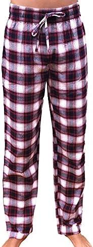 GIVEITPRO Women Flannel Pajama Pant Pajama Bottoms Women-100% Cotton Yarn-dye Woven-1 Pair