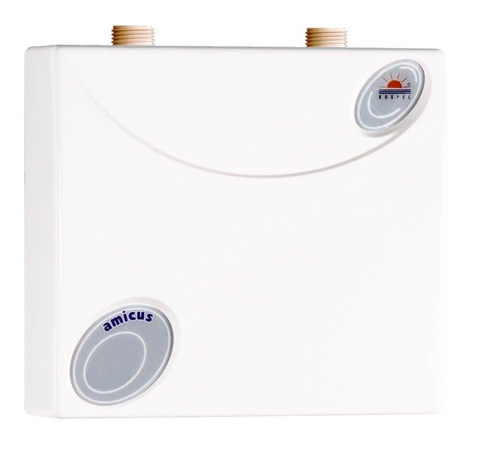 Kospel Chauffe-eau sous Table druckfest EPO Amicus 6 kW, 230– 400 V, classe é nergé tique A, 1 piè ce, 22,5 x 22 x 9 cm, blanc, EPO. D1– 6 230-400V classe énergétique A 1pièce 5x 22x