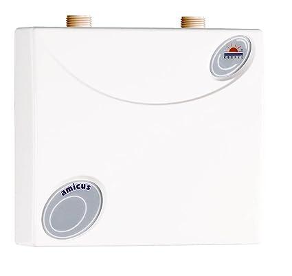 D Amicus - Calentador de agua a prueba de presión, bajo mueble,