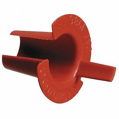 ARLINGTON Bushing Anti-Short 3/8 in Plastic PK100