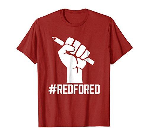 Red For Ed - Teachers Strike Tshirt - Educator Walkout Shirt