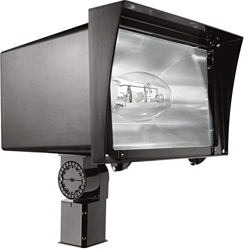 RAB Lighting FZS400SFQT/PC2 Floodzilla 400W Lamp Slip Fit...