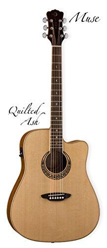 Luna Guitars serie Muse Guitarra Folk Electro-Acoustique acabado ...